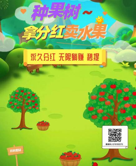 首码项目疯狂果园,种植增值模式+分红模式